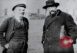 Image of Bolshevik leaders Vladimir Lenin and  Lev Kamenev Moscow Russia Soviet Union, 1919, second 5 stock footage video 65675056595