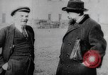 Image of Bolshevik leaders Vladimir Lenin and  Lev Kamenev Moscow Russia Soviet Union, 1919, second 7 stock footage video 65675056595