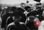Image of march by demonstrators Russia, 1919, second 3 stock footage video 65675056599