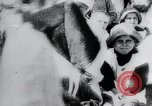 Image of march by demonstrators Russia, 1919, second 5 stock footage video 65675056599