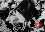 Image of march by demonstrators Russia, 1919, second 6 stock footage video 65675056599