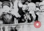 Image of march by demonstrators Russia, 1917, second 12 stock footage video 65675056599