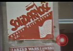 Image of Crisis in Poland Poland, 1982, second 10 stock footage video 65675056606