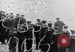 Image of King George and party on USS New York BB-34 Atlantic Ocean, 1918, second 1 stock footage video 65675056635