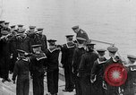 Image of King George and party on USS New York BB-34 Atlantic Ocean, 1918, second 2 stock footage video 65675056635