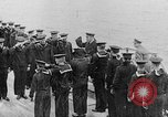 Image of King George and party on USS New York BB-34 Atlantic Ocean, 1918, second 3 stock footage video 65675056635
