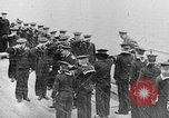 Image of King George and party on USS New York BB-34 Atlantic Ocean, 1918, second 4 stock footage video 65675056635