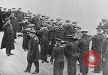 Image of King George and party on USS New York BB-34 Atlantic Ocean, 1918, second 5 stock footage video 65675056635