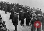 Image of King George and party on USS New York BB-34 Atlantic Ocean, 1918, second 6 stock footage video 65675056635