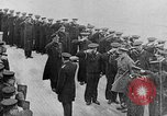 Image of King George and party on USS New York BB-34 Atlantic Ocean, 1918, second 7 stock footage video 65675056635