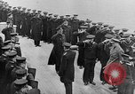 Image of King George and party on USS New York BB-34 Atlantic Ocean, 1918, second 8 stock footage video 65675056635