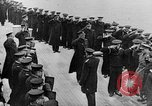 Image of King George and party on USS New York BB-34 Atlantic Ocean, 1918, second 9 stock footage video 65675056635