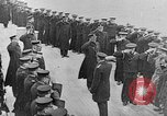 Image of King George and party on USS New York BB-34 Atlantic Ocean, 1918, second 10 stock footage video 65675056635