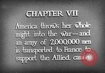 Image of American soldiers enter World War 1 Europe, 1917, second 11 stock footage video 65675056636