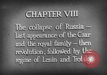 Image of Russian Revolution and rise of Bolshevik Russia Russia, 1917, second 4 stock footage video 65675056637