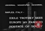 Image of Soviet Leader Leon Trotsky Naples Italy, 1940, second 2 stock footage video 65675056646