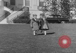 Image of President Eisenhower's grandchildren Washington DC USA, 1953, second 6 stock footage video 65675056670