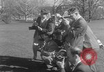 Image of President Eisenhower's grandchildren Washington DC USA, 1953, second 8 stock footage video 65675056670