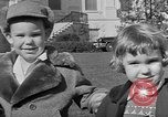 Image of President Eisenhower's grandchildren Washington DC USA, 1953, second 12 stock footage video 65675056670