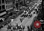 Image of Army Generals return Los Angeles California USA, 1945, second 6 stock footage video 65675056674