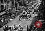 Image of Army Generals return Los Angeles California USA, 1945, second 8 stock footage video 65675056674