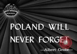 Image of Polish killed Lublin Poland, 1945, second 1 stock footage video 65675056699