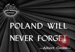 Image of Polish killed Lublin Poland, 1945, second 2 stock footage video 65675056699