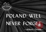 Image of Polish killed Lublin Poland, 1945, second 4 stock footage video 65675056699