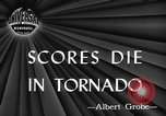 Image of damages by tornadoes Alabama United States USA, 1945, second 3 stock footage video 65675056700