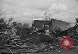 Image of damages by tornadoes Alabama United States USA, 1945, second 12 stock footage video 65675056700