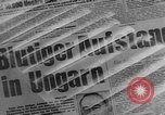 Image of revolution in Hungary Budapest Hungary, 1956, second 11 stock footage video 65675056713