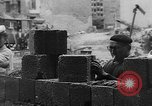 Image of Berlin Wall construction Berlin Germany, 1961, second 4 stock footage video 65675056719