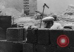 Image of Berlin Wall construction Berlin Germany, 1961, second 7 stock footage video 65675056719