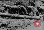 Image of US Soldiers labor and haul equipment Pacific Theater, 1944, second 2 stock footage video 65675056745