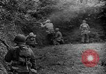 Image of US Army soldiers and Marines in combat World War 2 Pacific Theater, 1944, second 2 stock footage video 65675056746