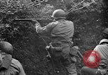 Image of US Army soldiers and Marines in combat World War 2 Pacific Theater, 1944, second 3 stock footage video 65675056746