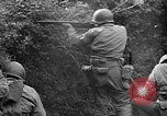 Image of US Army soldiers and Marines in combat World War 2 Pacific Theater, 1944, second 4 stock footage video 65675056746