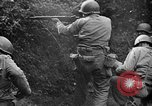 Image of US Army soldiers and Marines in combat World War 2 Pacific Theater, 1944, second 6 stock footage video 65675056746