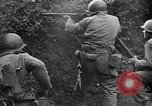 Image of US Army soldiers and Marines in combat World War 2 Pacific Theater, 1944, second 8 stock footage video 65675056746
