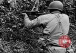 Image of US Army soldiers and Marines in combat World War 2 Pacific Theater, 1944, second 9 stock footage video 65675056746