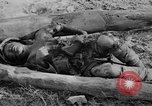 Image of US and enemy soldiers killed in World War 2 Pacific Theater, 1944, second 8 stock footage video 65675056749