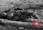 Image of US and enemy soldiers killed in World War 2 Pacific Theater, 1944, second 9 stock footage video 65675056749