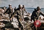 Image of battle of Iwo Jima Iwo Jima, 1945, second 4 stock footage video 65675056751