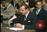 Image of Alexander Butterfield testifies Washington DC USA, 1973, second 10 stock footage video 65675056774