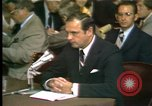 Image of Alexander Butterfield testifies Washington DC USA, 1973, second 11 stock footage video 65675056774