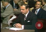 Image of Alexander Butterfield testifies Washington DC USA, 1973, second 12 stock footage video 65675056774