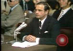 Image of Butterfield testifies Washington DC USA, 1973, second 9 stock footage video 65675056776