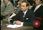 Image of Butterfield testifies Washington DC USA, 1973, second 10 stock footage video 65675056776