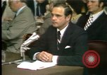 Image of Butterfield testifies Washington DC USA, 1973, second 11 stock footage video 65675056776