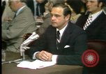 Image of Butterfield testifies Washington DC USA, 1973, second 12 stock footage video 65675056776